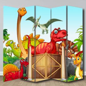 # Παραβάν με δεινόσαυρους - Sticker Box