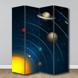 # Παραβάν με ηλιακό σύστημα - Sticker Box