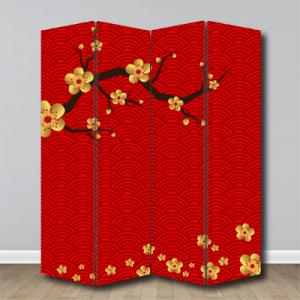 # Παραβάν με λουλούδια - Sticker Box