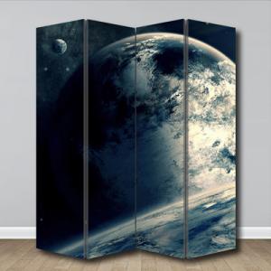 # Παραβάν με πλανήτη - Sticker Box