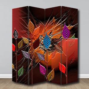 # Παραβάν με πολύχρωμα φύλλα - Sticker Box