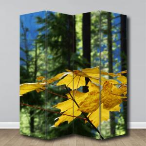 # Παραβάν με φθινοπωρινά φύλλα - Sticker Box