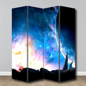 # Παραβάν φωτεινός πλανήτης - Sticker Box