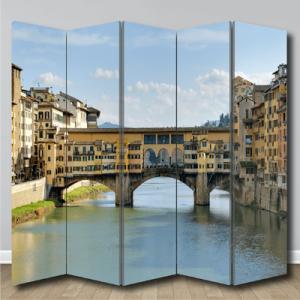 # Παραβάν με Ponte Vecchio Ιταλία - Sticker Box
