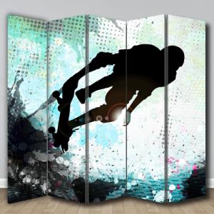 # Παραβάν με skateboard - Sticker Box