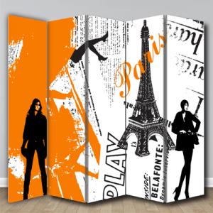 # Παραβάν μόδα στο Παρίσι - Sticker Box
