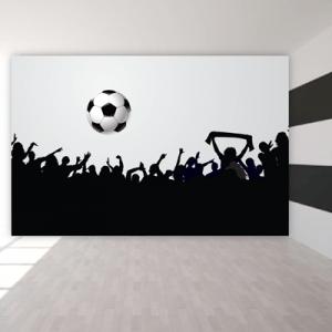 # Ταπετσαρία με φωτιζόμενο γήπεδο - Sticker Box