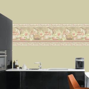 # Ταπετσαρίες με vintage κουζίνα - Sticker Box