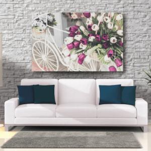 # Πίνακας με διακοσμητικά λουλούδια - Sticker Box