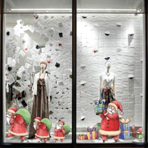 # Αυτοκόλλητο Άγιος Βασίλης και δώρα - Sticker Box