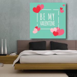 # Πίνακας Be my Valentine - Sticker Box