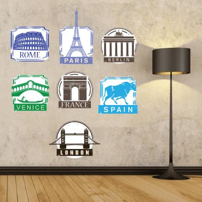 # Αυτοκόλλητα ταξιδιωτικού γραφείου - Sticker Box