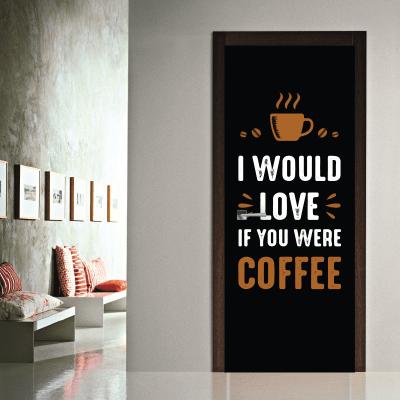 # Αυτοκόλλητο για καφετέριες - Sticker Box