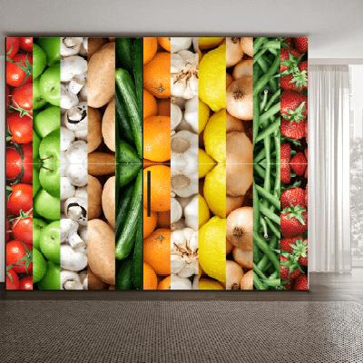 # Αυτοκόλλητο ντουλάπας για εστιατόρια - Sticker Box