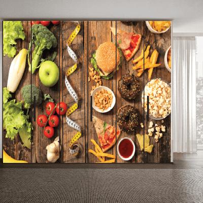 # Αυτοκόλλητο ντουλάπας για εστιατόριο - Sticker Box