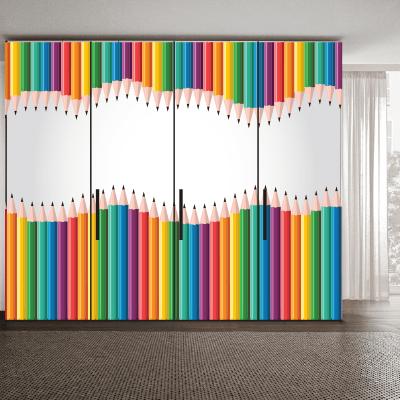 # Αυτοκόλλητο ντουλάπας με μπογιές - Sticker Box