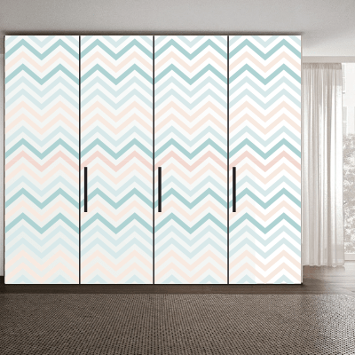 # Αυτοκόλλητο ντουλάπας μοτίβο 3 - Sticker Box
