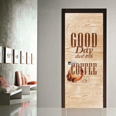 # Αυτοκόλλητο πόρτας για καφέ - Sticker Box