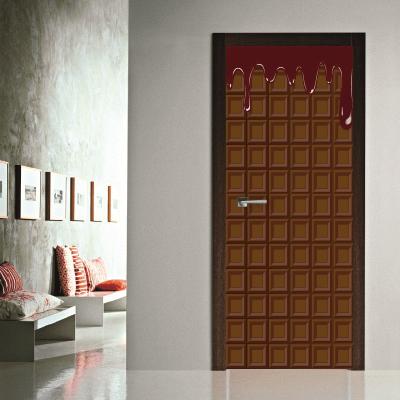 # Αυτοκόλλητο πόρτας σοκολάτα - Sticker Box
