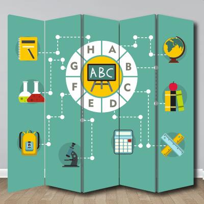 # Παραβάν για φροντιστήρια - Sticker Box
