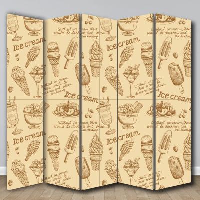 # Παραβάν για ζαχαροπλαστεία - Sticker Box