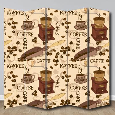 # Παραβάν με καφέ - Sticker Box