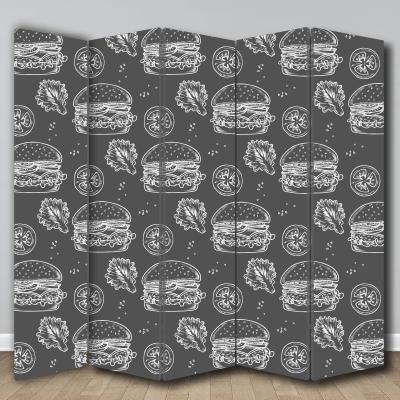 # Παραβάν με burger - Sticker Box