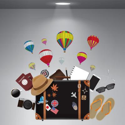 # Αυτοκόλλητο βιτρίνας για ταξιδιωτικά γραφεία - Sticker Box
