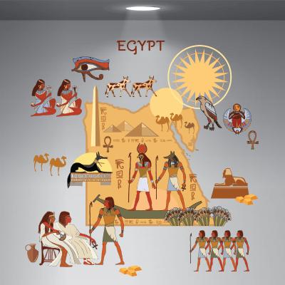# Αυτοκόλλητο βιτρίνας ταξίδι στην Αίγυπτο - Sticker Box