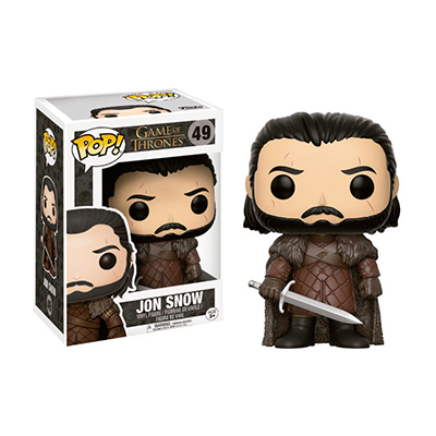 # Φιγούρα με τον Jon Snow | POP! figure TV series Game of Thrones - No. 49 - Sticker Box