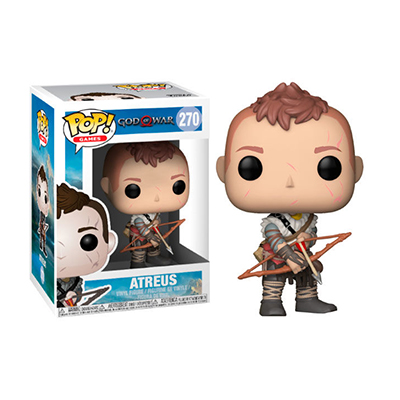 # Φιγούρα με τον Atreus | POP! figure Video Games God of War – No. 270 - Sticker Box