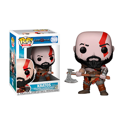 # Φιγούρα με τον Kratos | POP! figure Video Games God of War - No. 269 - Sticker Box