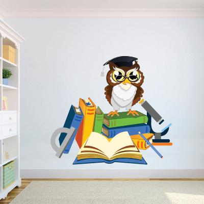 # Αυτοκόλλητο σχολικά βιβλία και κουκουβάγια - Sticker Box
