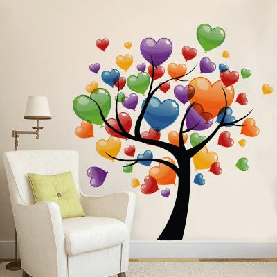 # Αυτοκόλλητο τοίχου δέντρο με μπαλόνια - Sticker Box