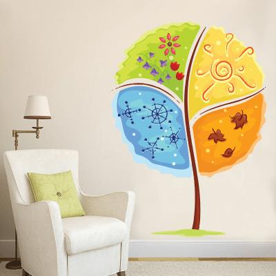 # Αυτοκόλλητο τοίχου δέντρο 4 εποχές - Sticker Box