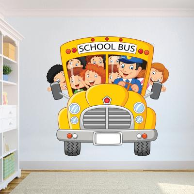 # Αυτοκόλλητο τοίχου σχολικό λεωφορείο - Sticker Box