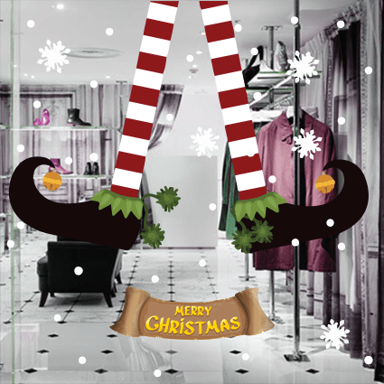 # Αυτοκόλλητο ξωτικό χριστουγέννων - Sticker Box