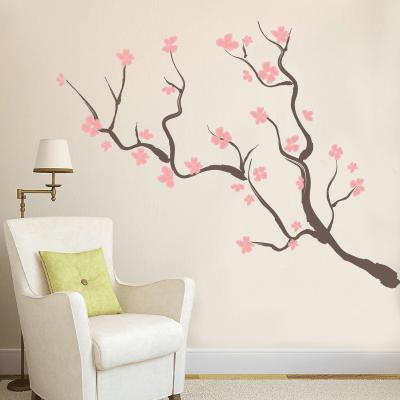Αυτοκόλλητο κλαδιά δέντρου με ροζ λουλούδια