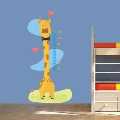 # Αυτοκόλλητο μεζούρα ύψους με καμηλοπάρδαλη - Sticker Box