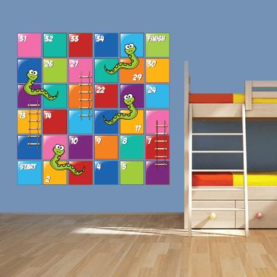 Αυτοκόλλητο τοίχου παιδικό φιδάκι