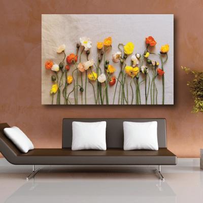 # Πίνακας σύνθεση με λουλούδια - Sticker Box