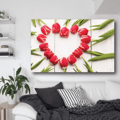 # Πίνακας λουλούδια σχηματίζουν καρδιά - Sticker Box