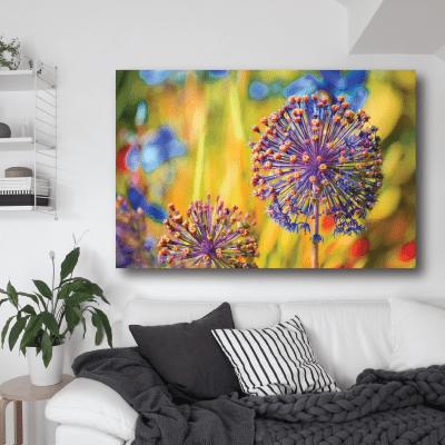 # Πίνακας χρωματιστά λουλούδια - Sticker Box