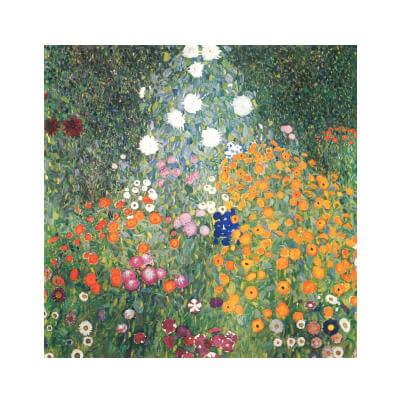 Πίνακας Γκουστάφ Κλίμτ Κήπος με λουλούδια