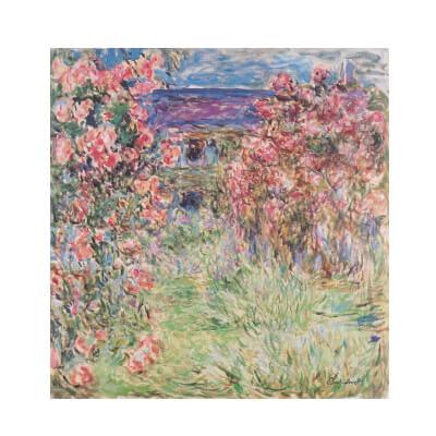 Πίνακας ζωγραφικής ρόζ λουλούδια