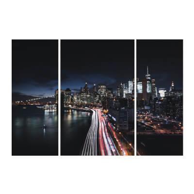 Τρίπτυχος πίνακας Νέα Υόρκη_1
