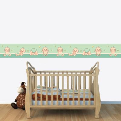 Αυτοκόλλητη μπορντούρα με μωράκια